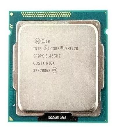 Processador Intel Core I7 3770, 3.4ghz Lga 1155 Reembalado