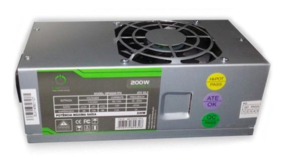 Fonte Tfx 200w Onepower Mp200w-tfx S/ Cabo De Força