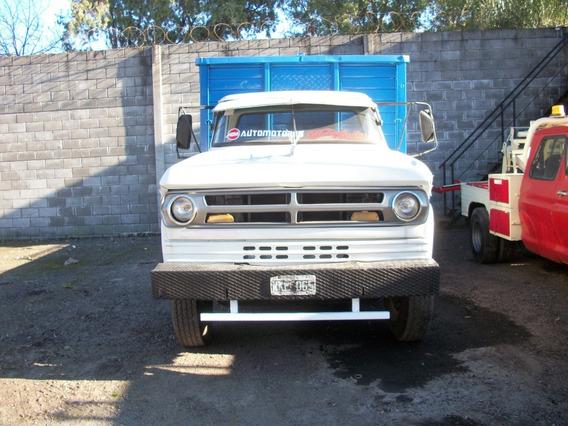 Dodge Dp 600 C/playa 4x2.50m D/h, Frenos De Aire Muy Bueno.