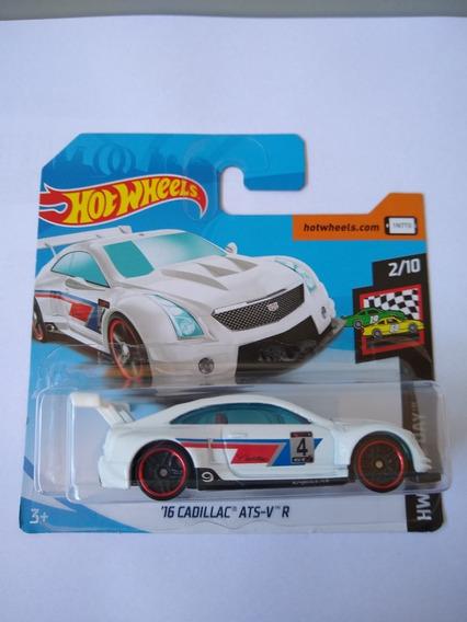 Hot Wheels - Cadillac Ats-v R - Lindo Exemplar Para Coleção