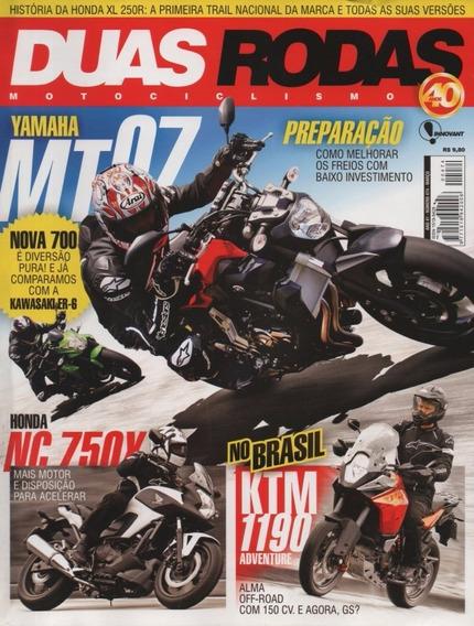 Duas Rodas N°474 Yamaha Mt-07 Kawasaki Er-6 Honda Nc 750x