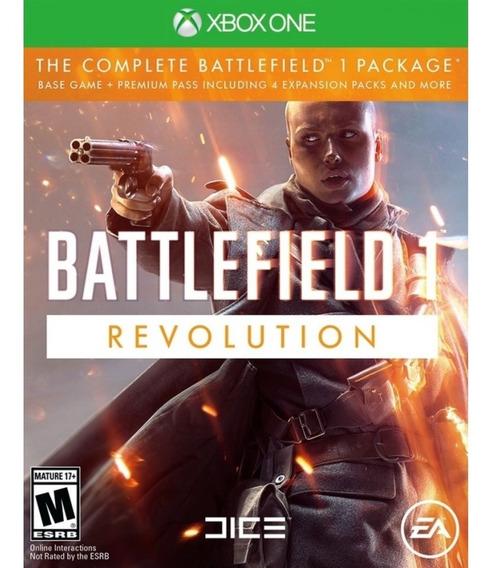 Battlefield 1 Revolution Xbox One Mídia Física Lacrado Novo