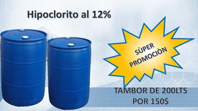 Hipoclorito De Sodio Al 12%
