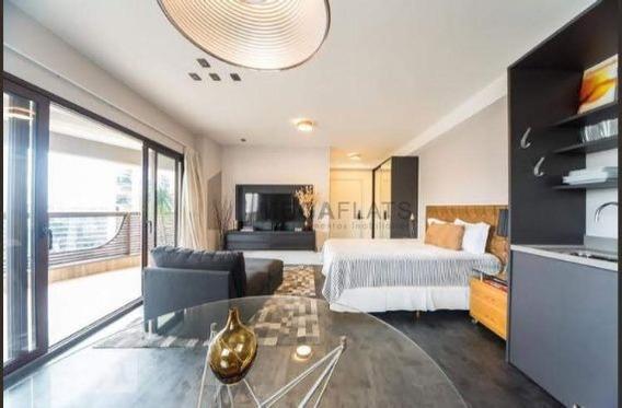 06784 - Flat 1 Dorm. (1 Suíte), Vila Olímpia - Sao Paulo/sp - 6784