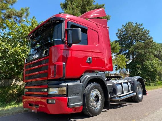 Scania 124 360 Ano 2000 Toco 4x2