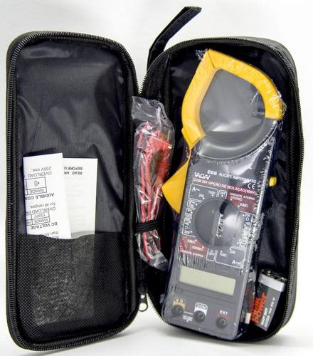 Imagem 1 de 1 de Kit 10 Uni. Alicate Amperímetro-voltímetro-ohmímetro Dt-266