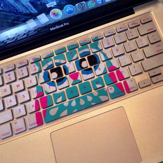 2x Protetor Compatível Com Macbook Pro 13/15/17 Teclado 390