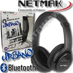 Auricular Urbano Netmak Bluetooth Nm-b21