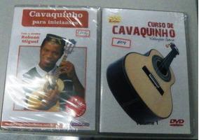Kit Vídeo Aula Para Aprender Cavaco C/robson/wellington Gama