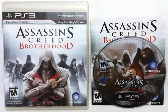 Assassins Creed Brotherhood Playstation 3 Ps3 Frete C Desc*