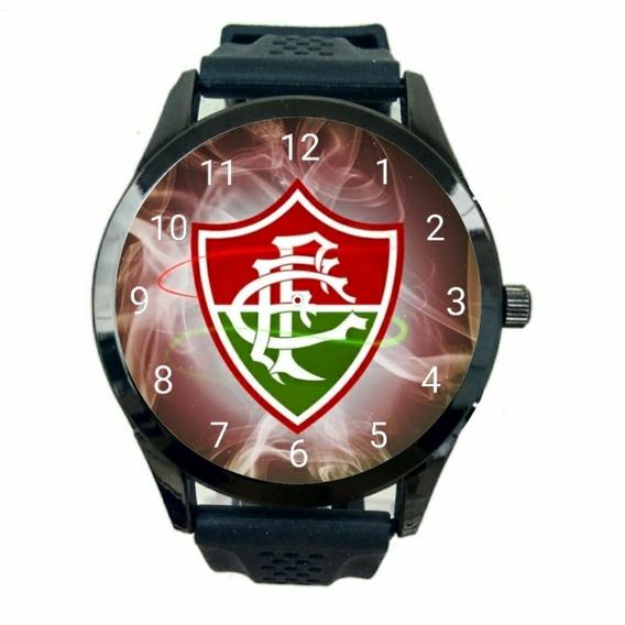 Fluminense Relógio Unissex Promoção Oferta Novidad Time T505