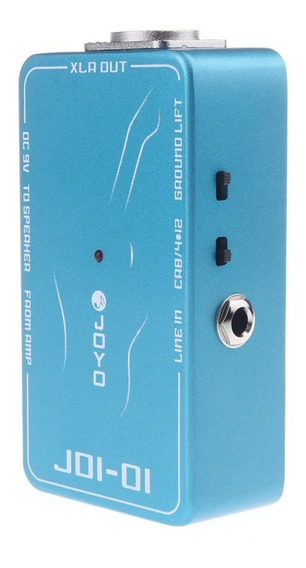 Joyo Jdi-01 Di Box Passive Direct Box Amp Simulation Guitar