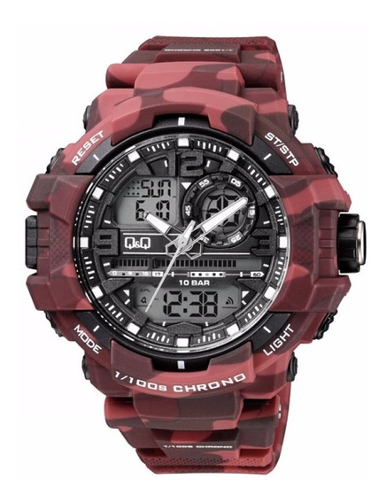 Reloj Qq Gw86j007y By Citizen Militar Camuflados Original