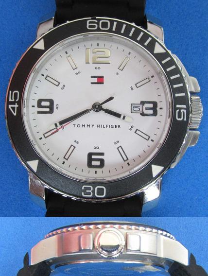 Relógio Tommy Hilfiger Pulseira De Borracha - Semi-novo!!