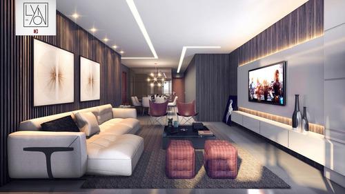 Imagem 1 de 30 de Edifício Lyon Apartamento Luxo Com 3 Suítes Na Ponta Verde - Ap0033