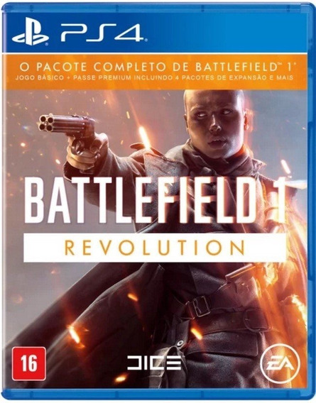 Battlefield 1 Revolution Ps4 Psn Pt Br Code 1