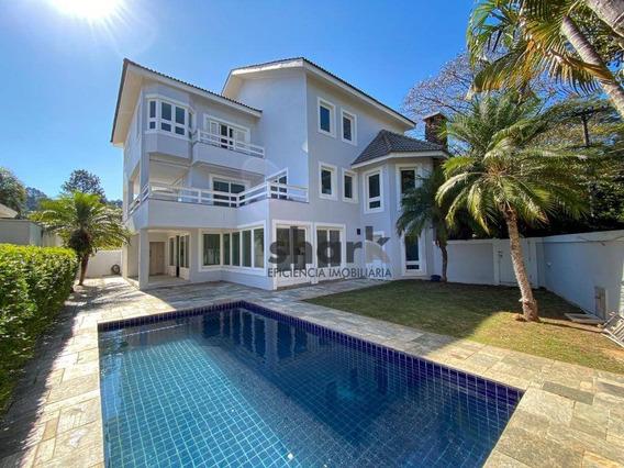Casa Com 4 Dormitórios, 600 M² - Venda Por R$ 1.850.000,00 Ou Aluguel Por R$ 8.000,00/mês - Alphaville 10 - Santana De Parnaíba/sp - Ca0207