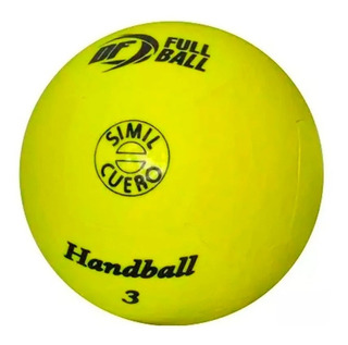 Pelota Handball Nº1 Nº2 Nº3 Cuero Sintetico Handbol Full Bal