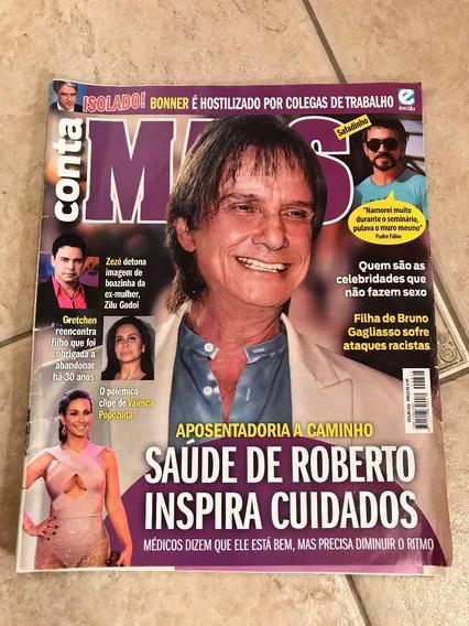 Revista Conta Mais 826 Roberto Carlos Alinne Moraes Gretchen