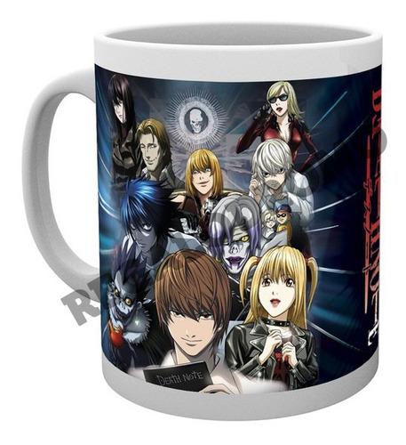 Mug De Death Note, 11 Onzas, Nuevo, Cerámica, M3