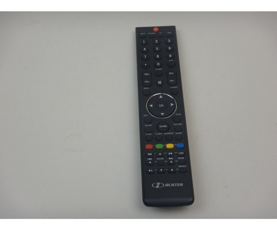 Controle Remoto H Buster Hbtv 32105hd / 42105hd / Vc8030 .