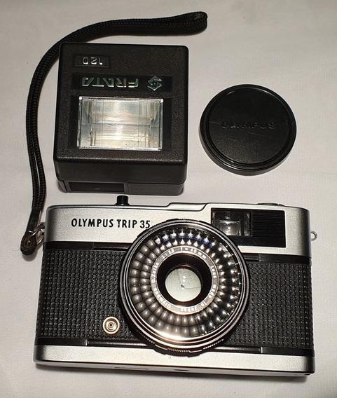 Olympus Trip Máquina Fotográfica Antiga 35mm