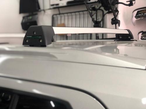 Barras De Techo Nissan Kicks Aluminio Calce Guia
