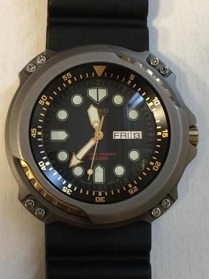Relógio Casio Mqd-3000w - Diver - Antigo - Raríssimo