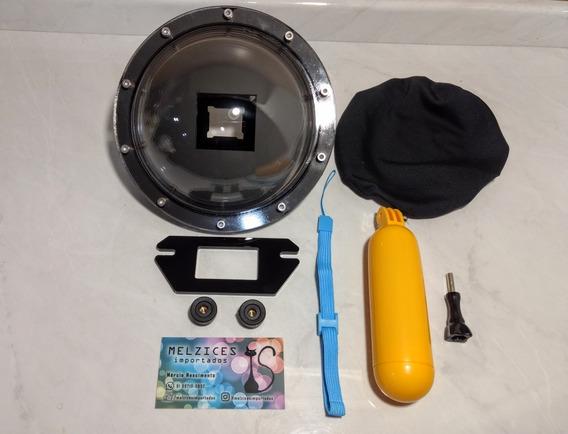 Dome Para Gopro 5 6 E 7 Black (uso Apena Com Cx Estanque )