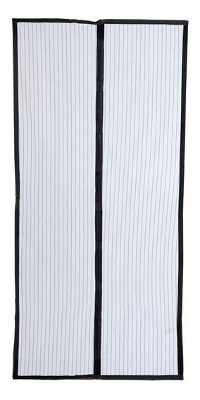 Cortina Mosquiteiro Tela Protetora Para Porta De Insetos