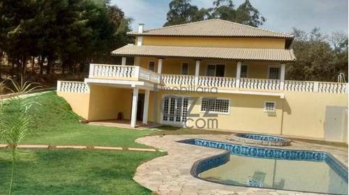 Linda Chácara Com 4 Dormitórios À Venda, 2940 M² Por R$ 600.000 - Salto De Pirapora/sp - Ch0465