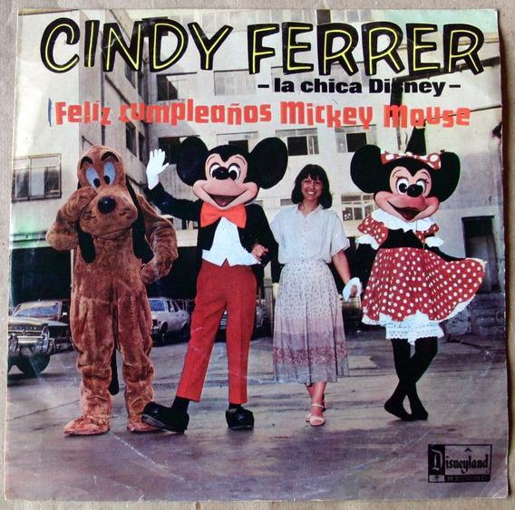Cindy Ferrer Feliz Cumpleaños Mickey Mouse Simple Disney 79