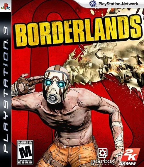 Borderlands Playstation 3 Ps3 Mídia Física Game Original