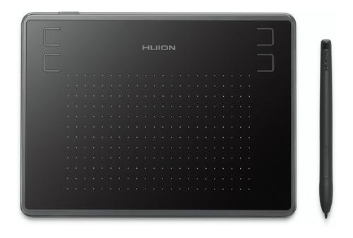 Tableta Gráfica Huion H430p Con 4096 Pluma Presión 4 Short