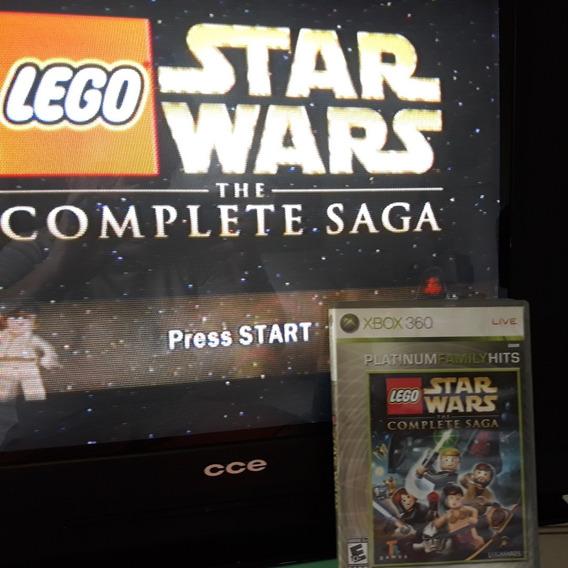 Jogo Xbox 360 Lego Star Wars The Complete Saga Usado Origina