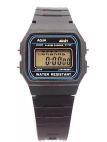 Relógio Digital Áqua Retro A Prova D