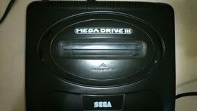 Megadrive 3 Sega Original Com 30 Jogos Na Memoria