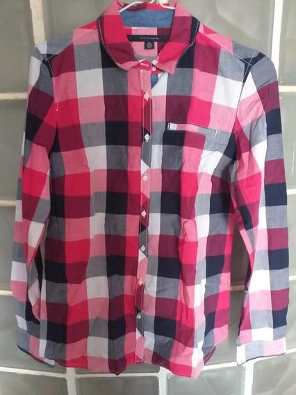 Camisa Escocesa Mujer Tommy Hilfiger