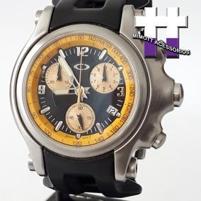 Relógio Holeshot 6 Hand Unobtanium Yellow Dial