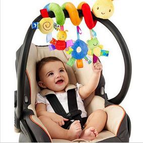 Móbile Chocalho Bebê Espiral Centopéia Carrinho Berço