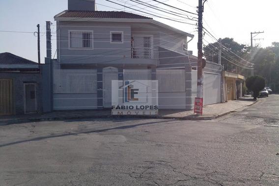 Sobrado A Venda No Bairro Vila Euro Em São Bernardo Do - 1105-1