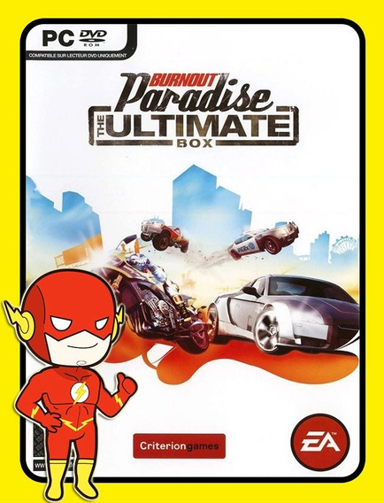 Burnout Paradise Pc - Origin Key (envio Flash)
