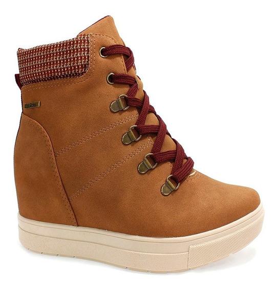 Tênis Dakota Sneaker Feminino Marrom