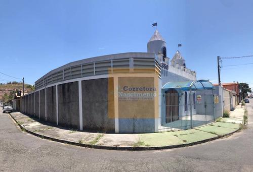 Excelente Salão Para Locação Em Um Dos Melhores Bairros De Jacareí - Sl0032