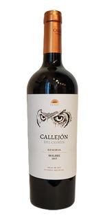 Vino Callejón Del Crimen Reserva Malbec 750 Ml Fullescabio