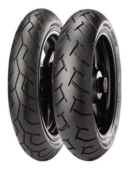 Par Pneu Honda Pcx 150 100/90-14 + 90/90-14 Diablo S Pirelli