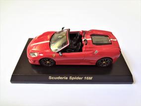 Ferrari F430 Scuderia Spider 16m Vermelha 1/64 Kyosho