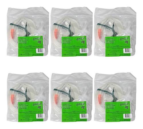 Imagem 1 de 1 de G Tech Super Flow Kit P/ Nebulização Infantil (kit C/06)