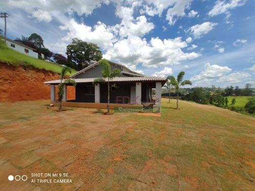Imagem 1 de 9 de Chácara Com 3 Dormitórios À Venda, 1455 M² Por R$ 600.000,00 - Parque Alpina - Igaratá/sp - Ch0586