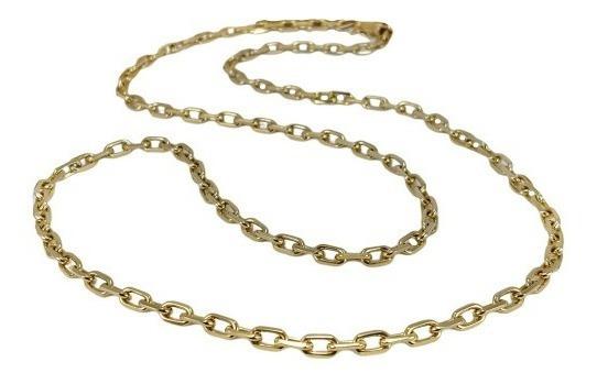 Corrente Cordão Cartier Masculino Maciço 68cm Ouro 18k 382